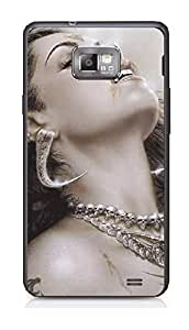 Upper case Fashion Mobile Skin Sticker for Samsung I9105 Galaxy S II Plus