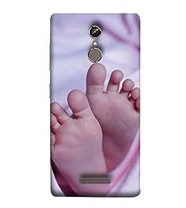 YuBingo Gionee Elife S6S Designer Phone Back Case Cover ( Child's Feet )