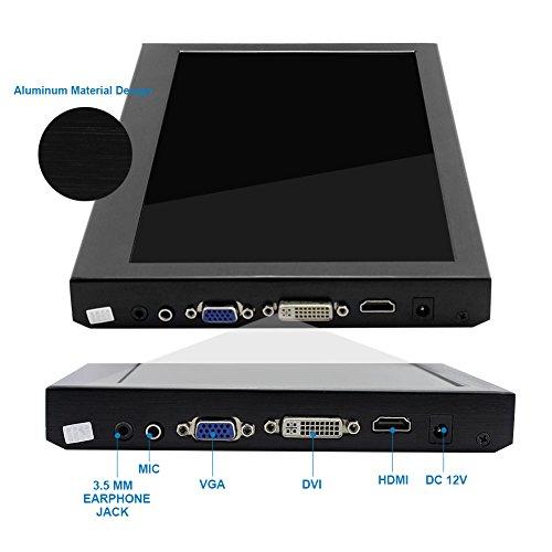 HD PC Monitor showcase display for Raspberry Pi 2B B Raspberry Pi 3B Windows 7 8 10 116 Inch 1920X1080 HDMI PS3 PS4WiiU Xbox360 1080P from Elecrow Barebones