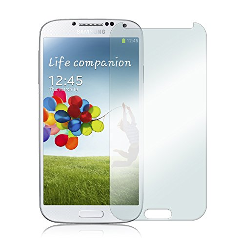 AaroGlobal TM Tempered Glass for Samsung Galaxy S4 i9500, 0.3mm thickness, 9H Hardness, Reduce Fingerprint, No Rainbow, Bubble Free, Anti Explosion Tempered Glass Screen Protector for Samsung Galaxy S4 i9500  available at amazon for Rs.123