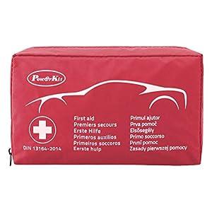 PowerKit® Klein & kompakt Erste-Hilfe-Kit/Set (Verbandkasten) Professionelles Design f¨¹r Haus, Fahrzeug, Reise, B¨¹ro, Arbeitsplatz, Kinderbetreuung, Wandern, Survival & Outdoor