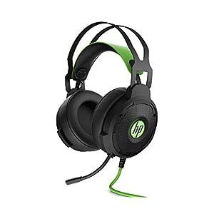 HP Pavilion 600 (4BX33AA)Gaming Headset (kabelgebunden, LED) schwarz / grün