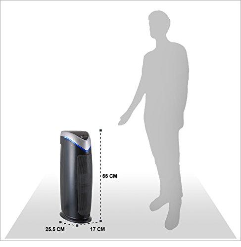 55.9cm PureMate/® PM 510 M/últiple Technologies Aut/éntico HEPA Purificador de Aire y Ionizador con UV-C y Olor Reducci/ón