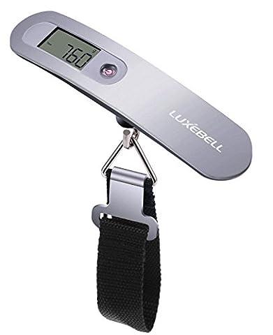 Luxebell® Pèse Bagage Numérique Electronique, balance de voyage, bagages électronique,