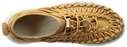 Keen Damen Uneek O2 W Sneakers Mehrfarbig (Tan/white)