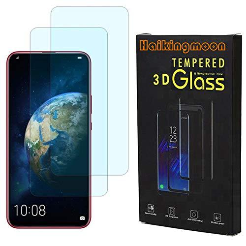 Haikingmoon Huawei Honor Magic 2 Folie [2 Stück],HD Bildschirmschutzfolie 9H Härte Panzerglas Schutzfolie Premium gehärtetes Glas für Huawei Honor Magic 2 [Kratzfest,ölfest]