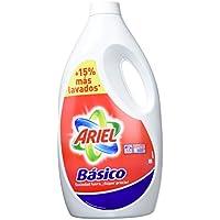 Ariel Detergente Basico Líquido, pack 2 x 3,025, 110 lavados