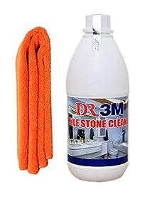 TILE STONE CLEANER 500ml. + ORANGE MICROFIBER CLOTH.