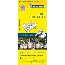 Carte Loiret, Loir-et-Cher Michelin de Collectif Michelin ( 1 avril 2015 )