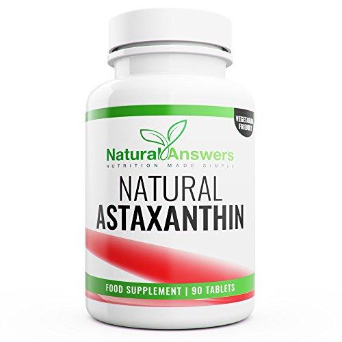 Astaxanthin Antioxidant Supplements 90 Vegetarian Tablets 3 Months Supply High Strength Natural Astaxanthin UK Manufactured Test