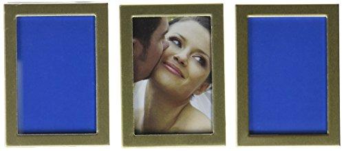 Unbekannt Weddingstar Mini Bilderrahmen, Staffelei Rückseite Gold 3Stück