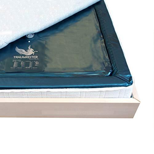 Traumreiter Eine Wasserbett Matratze 90x200 für 180x200 Softside Wasserbett dual Wasserkern-Matratzen Wassermatratzen (100{b37fc25e69fc16a6490b87fa9c1c727b953db0111d6e362bbdd63263bf7fc138} (0 Sekunden))