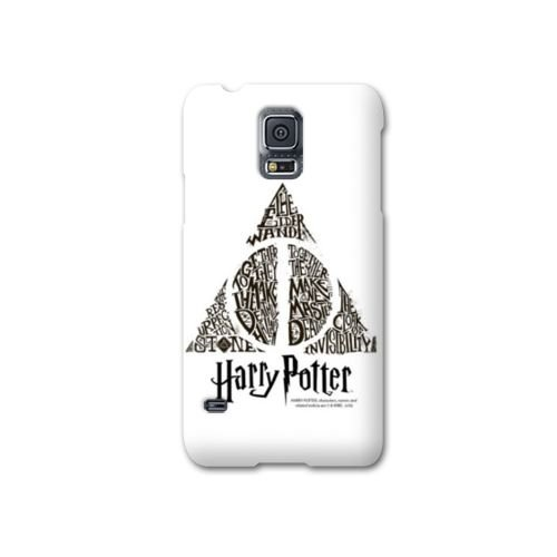 Coque Samsung Galaxy S5 WB License harry potter pattern - Hollows triangle Bl