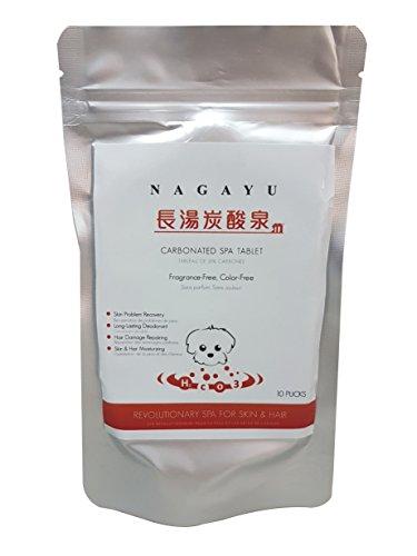 NAGAYU Carbonated Spa Tablet (10 pucks)