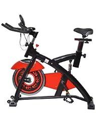 Bicicleta Estatica Spinning Fitness Gimnasio Bici Entrenador Carga 150Kg LED