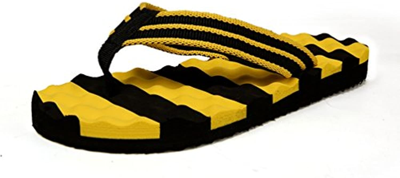 Männer Flip Flops Fashion Casual Schuhe Sommer Cool Water Gestreiften Slipon Mens Pantoffeln