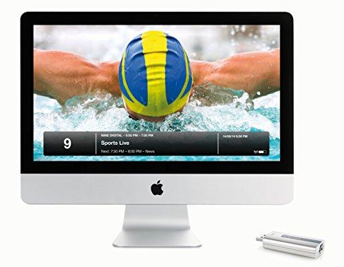 Geniatech EyeTV Hybrid, USB 2 Digital-TV-Stick für DVB-T (Digital Fernsehen via Antenne), DVB-C (Kabel) ohne Verschlüsselung (FreeView)
