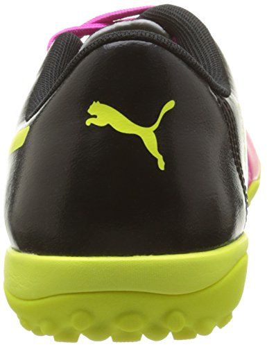 Puma Evopower 4 3 Tt, Chaussures de Football Homme Rose (Pink Glo/Safety Yellow/Black)