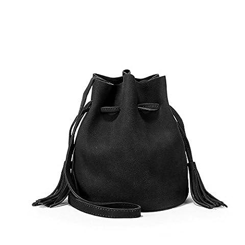 QPALZM 2017 Handbags Women Designer Shouler Bag Pour Dames Tassel Tote Girls Utilisation Quotidienne,A2-OneSize