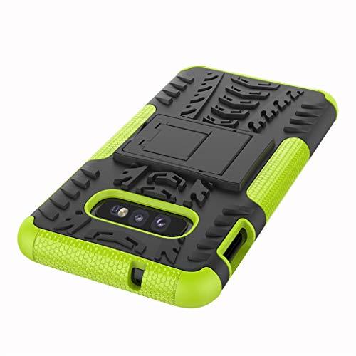 Das beste Zubehör für Samsung Galaxy S10E !!! Robustes 5,8-Zoll-Hybridgehäuse aus robustem Hartgummi für PC-Ständer (5. Generation Ipod-wasser-fall)