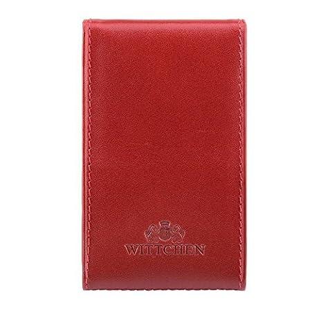 Etui na wizytówki z kolekcji Italy czerwone (Soy Tabletten)