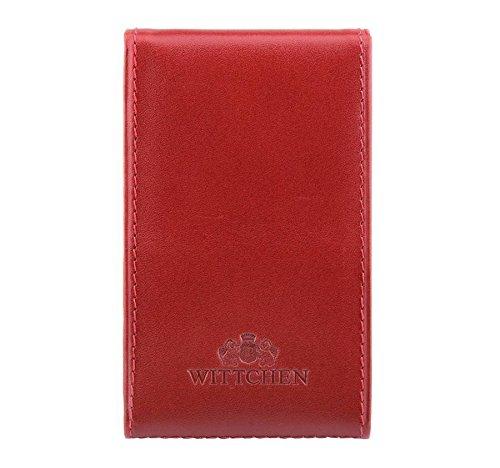 Etui na wizytówki z kolekcji Italy czerwone