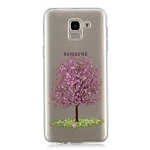 NEXCURIO Samsung Galaxy J6 2018 Hülle Silikon, Schutz Handy Hülle Handytasche HandyHülle Stoßfest Kratzfest Etui Schale Schutzhülle Weich Bumper Case Cover für Samsung Galaxy J6 (2018) - NEHEX15816#8