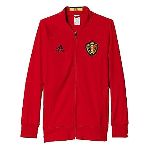adidas Herren Belgien Anthem Trainingsjacke, rot, S, AC5818 (American Apparel Deutschland)