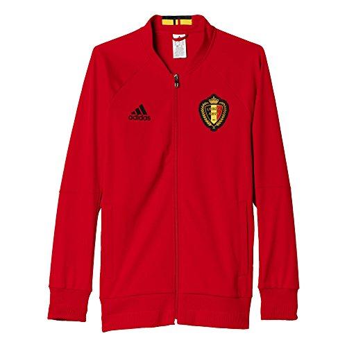 Adidas Veste de survêtement Belgique Anthem M rouge/noir