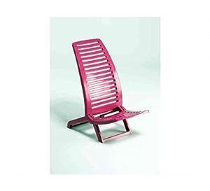 Alco - Silla para Playa propileno, Color Rosa