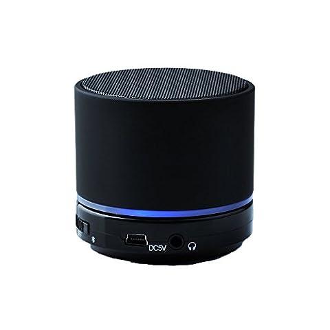 Victsing Haut-Parleur Bluetooth Portable avec Microphone Haut-Parleur Sans Fil Puissant
