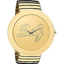 003d2b3053d1 Dolce   Gabbana D G - Reloj analógico de Cuarzo para Mujer con Correa de  Acero Inoxidable