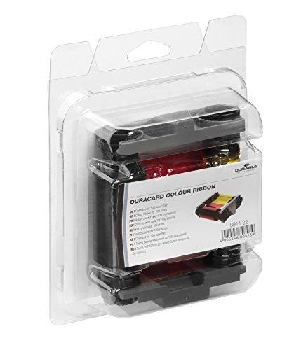 Durable 891122 Farbband Duracard ribbon, 1 Stück, mehrfarbig