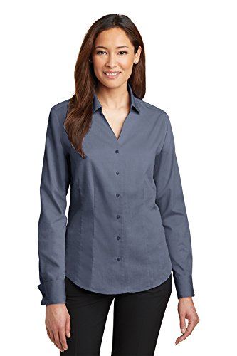 Pinpoint Oxford (Red House® - Ladies French Cuff Non-Iron Pinpoint Oxford Shirt. RH63 Vintage)