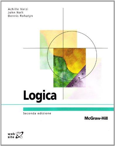 Libro Logica di Achille C. Varzi, John Nolt, Dennis Rohatyn 86a8710264e
