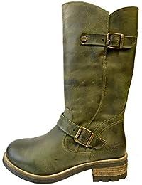 17cdd6cd3e Oak & Hyde - Crest - Rifle Green - Tall Leather Boots