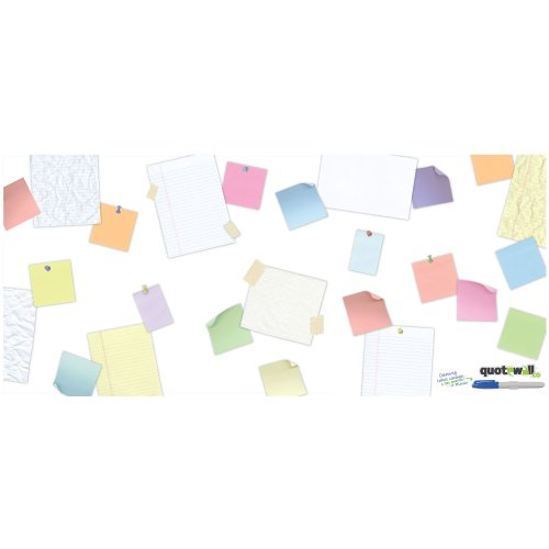 ROOMMATES RMK2186GM QUOTE WALL - SCATTERED PEEL AND STICK GIANT WALL DECALS