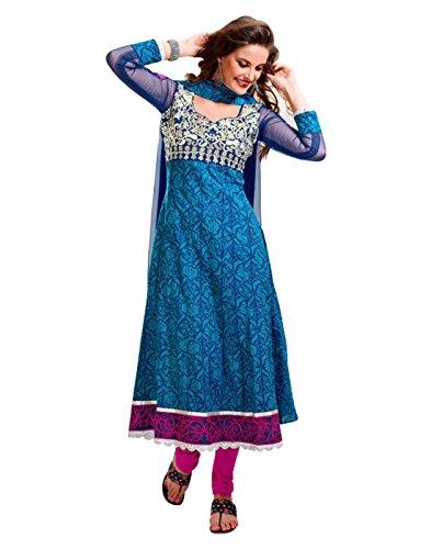 Sinina Cotton Patiala Salwar Kameez Suit Unstitched Dress Material-Temptress718