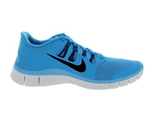 NIKE Chaussures de course NIKE Free 5.0+ pour Homme Blau (VVD BL/BLK-GRN ABYSS-SMMT WHT 403)