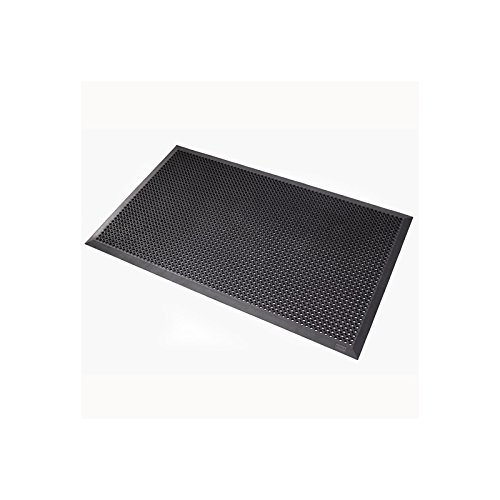 Notrax Schmutzfangmatte, 599B Oct-O-Flex BevelledTM - schwarz, BxL 700 x 900 mm - Fußmatten Schmutzfangmatten Bodenmatten Eingangsmatten Anti-Rutschmatten Fußmatten Schmutzfangmatten Bodenmatten -