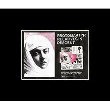 protomartyr–Verwandte–Album Version 2017Mini Poster–25,4x 30.3cm