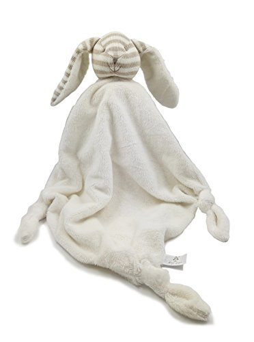 Kiyi-Gift Bebé Juguete | Juguete de Peluche de Cabeza de Conejo con Bebé Apaciguar Toalla