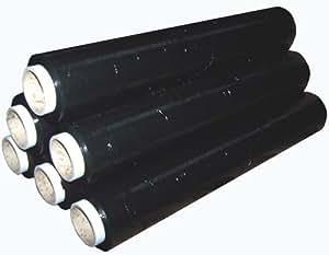 Bargains Galore Lot de 6 rouleaux de film plastique étirable résistant pour emballage et palettes