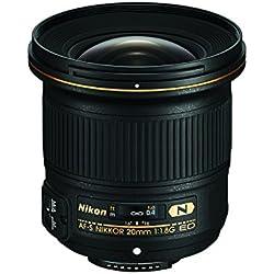 Nikon 20 mm / F 1.8 AF-S G ED Objectifs