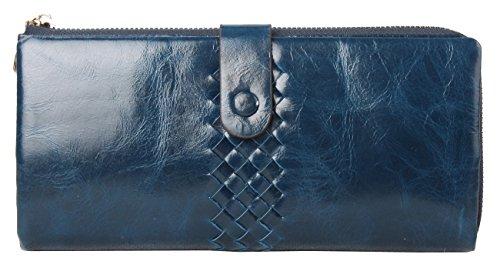 lh-saierlongr-womens-woven-style-wallet-navy-blue-genuine-leather-wallets