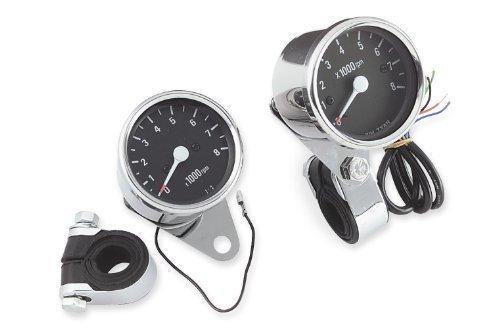 Bikers Choice Custom Mini Tachometer - Electronic 72769 by Biker's Choice