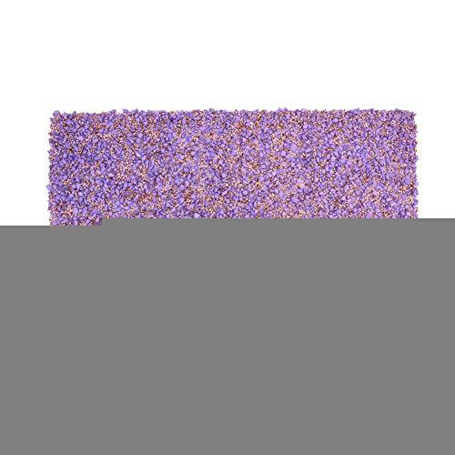 HEEPDD Strass Blatt, 9.4 x 15.7in Lila Kristall Strass Banding Mesh Trim mit Schmelzkleber DIY Kleidung Dekoration Zubehör für Tuch Hochzeitskleid Schuhe Taschen Telefon Fall -