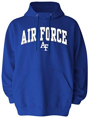 Old Varsity Marke Herren Air Force Falcons Big Pullover Kapuze, Herren, Big Mens Pullover Hood, königsblau -