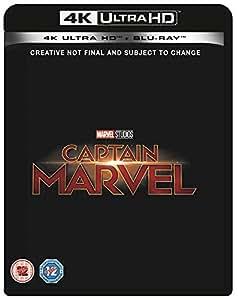 Captain Marvel [Blu-ray 4K] [2019] [Region Free]