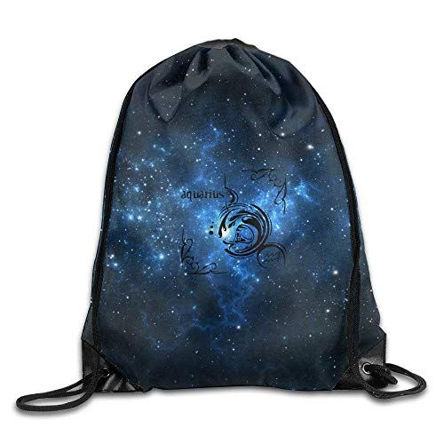 shuangshao liu With Your Birth Sign Aquarius Boutique 2016 Backpack Tasche